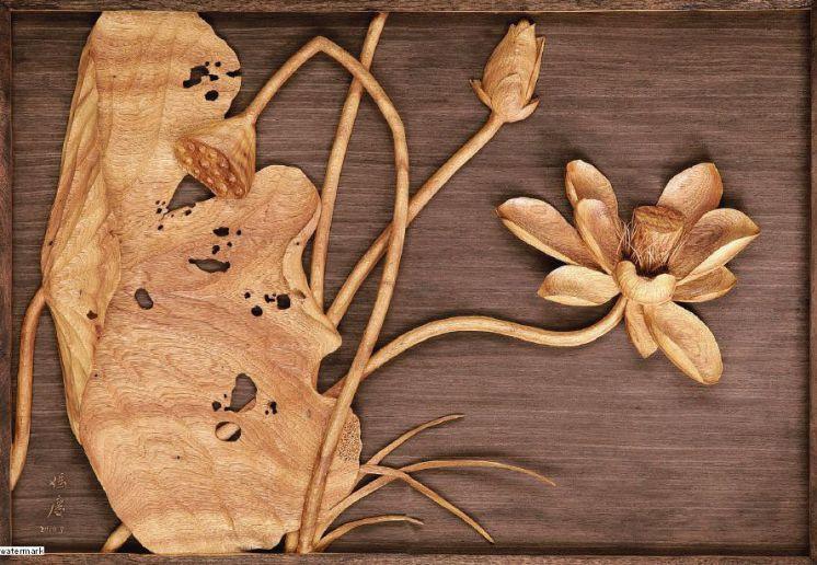 木雕山水表现手法